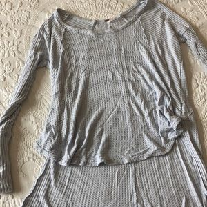 Blue free people thermal